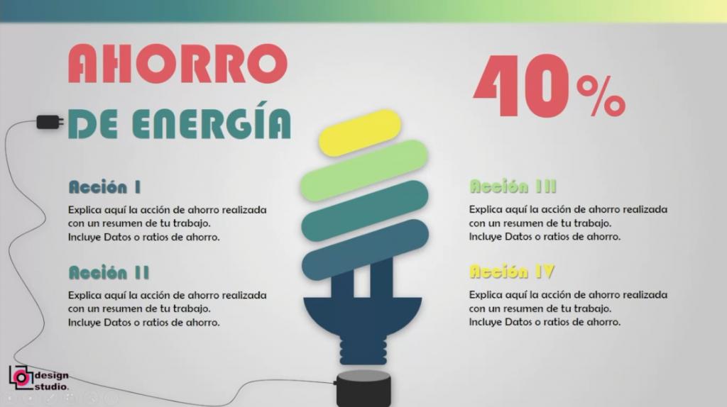 PowerPoint Ahorro Energía