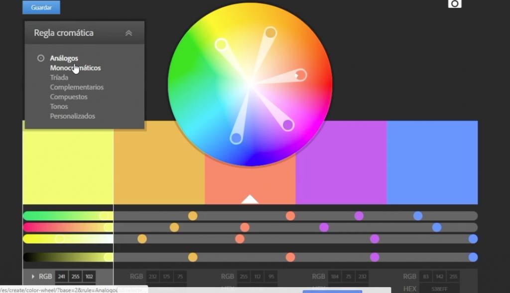 PowerPoint Paleta de Colores