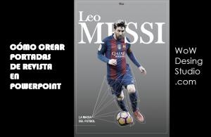 Portada Revista Messi
